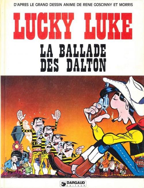 Couverture de Lucky Luke -HS02- La ballade des Dalton