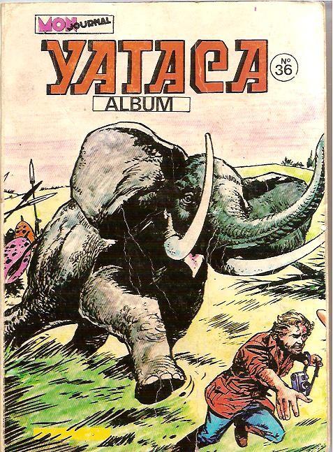 Couverture de Yataca (Fils-du-Soleil) -Rec36- Album N°36 (du n°129 au n°131)
