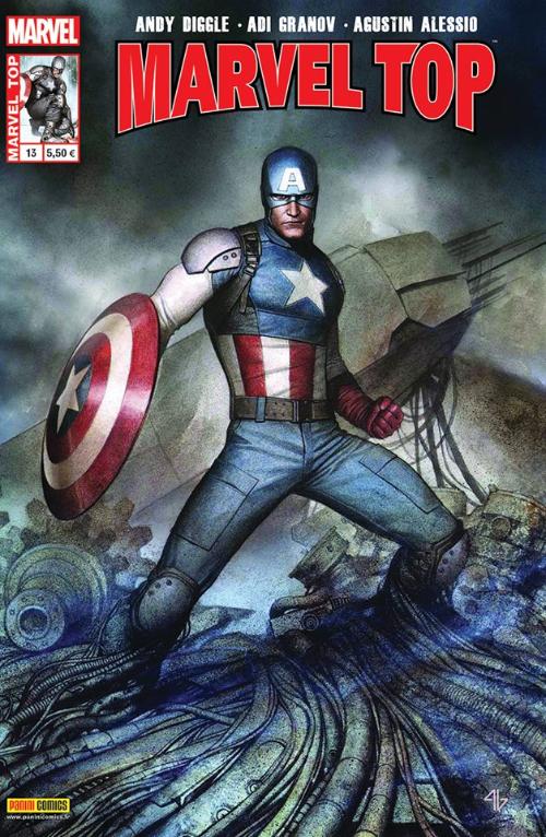Couverture de Marvel Top (Marvel France 2e série) -13- La légende vivante