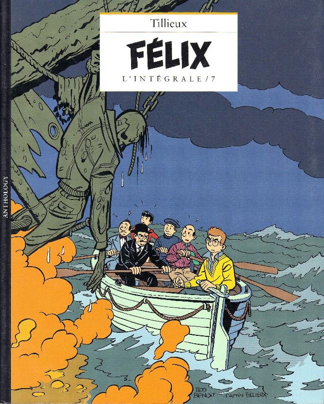 Couverture de Félix (Tillieux) (Niffle) -7- L'intégrale / 7