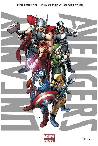 Couverture de Uncanny Avengers (Marvel Now!) -1- Nouvelle union
