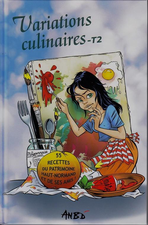 Couverture de Variations culinaires -2- Variations culinaires - T2