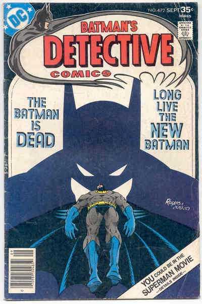 Couverture de Detective Comics (1937) -472- I Am the Batman!