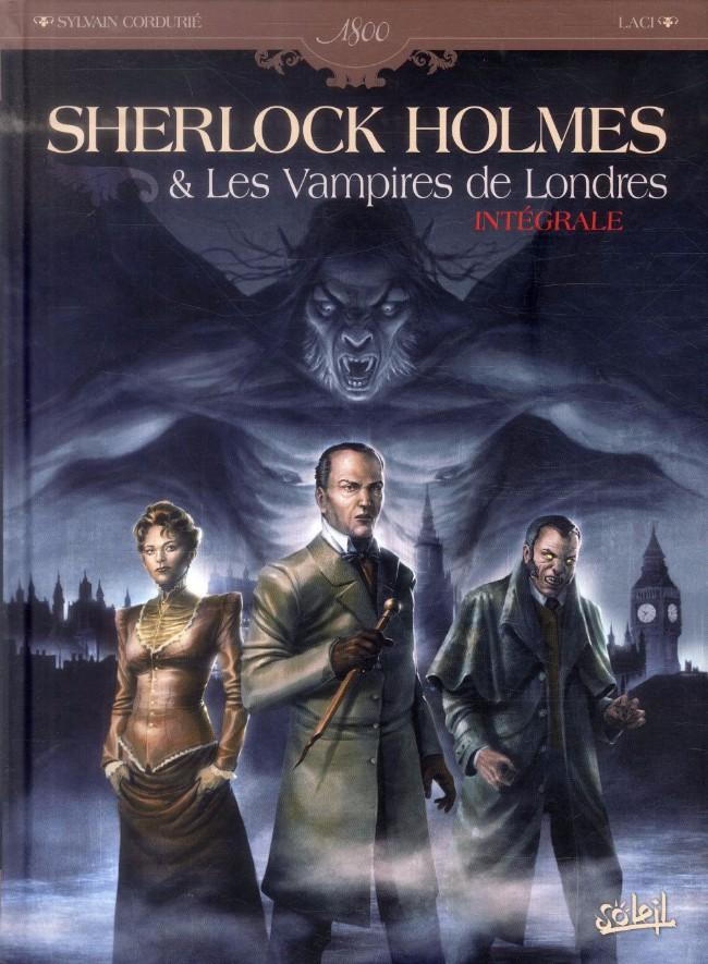 Couverture de Sherlock Holmes & Les Vampires de Londres -INT- Intégrale