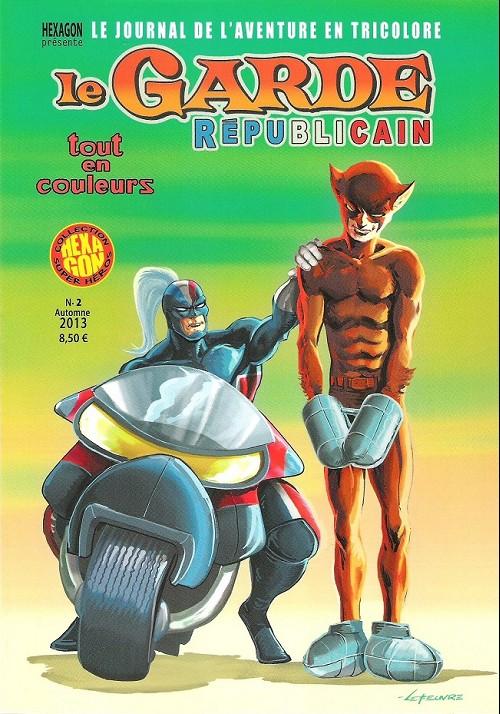 Couverture de Le garde républicain -2A- Tome 2