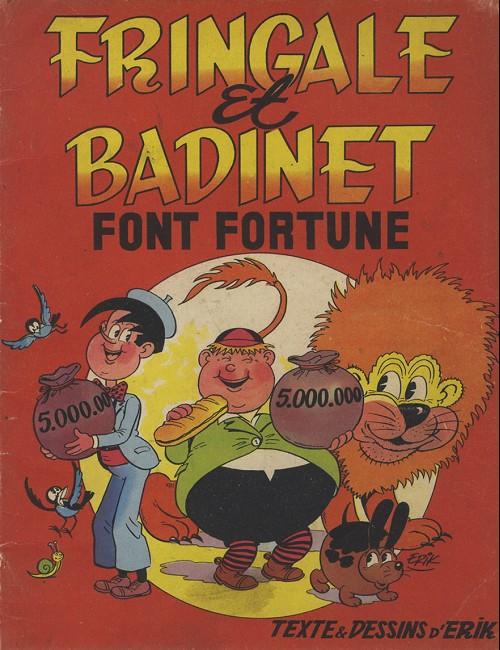 Couverture de Fringale et Badinet -1- Fringale et Badinet font fortune