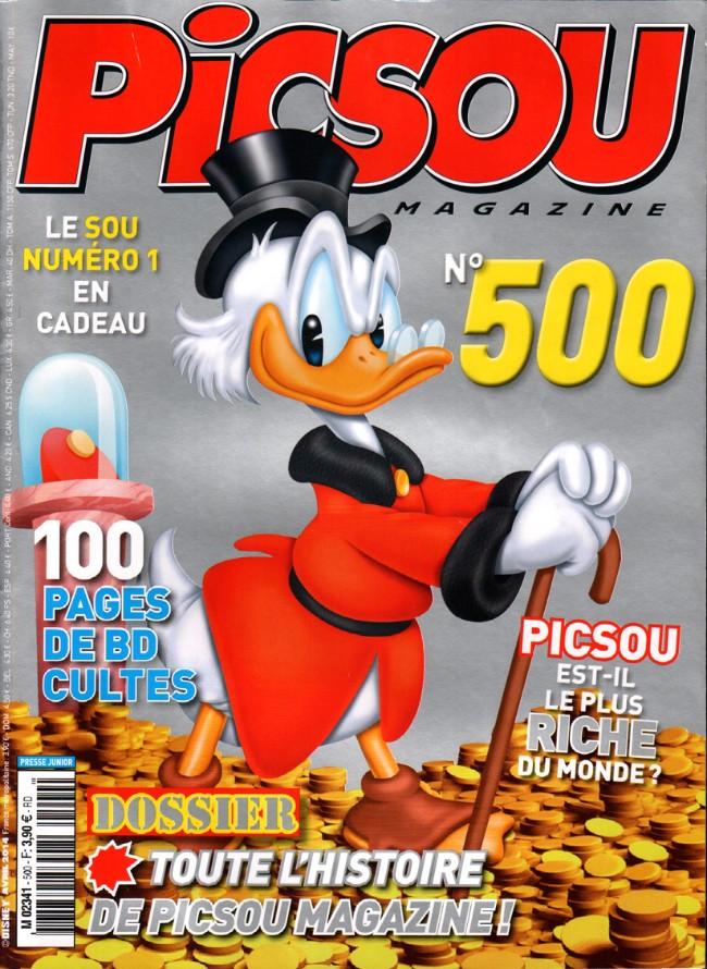 Couverture de Picsou Magazine -500- Picsou Magazine n° 500