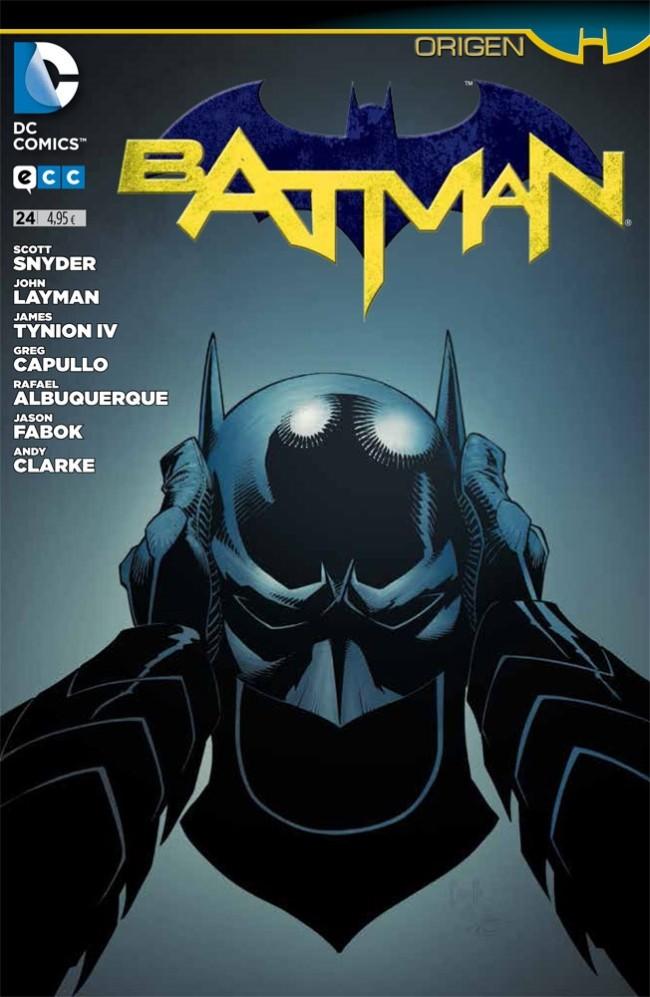 Couverture de Batman (en espagnol) -24- Origen. Ciudad Oscura