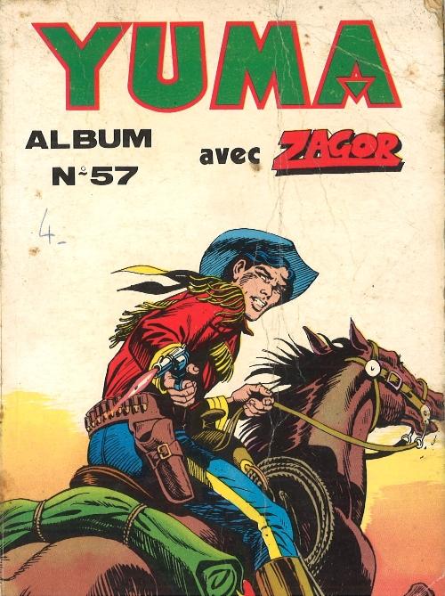 Couverture de Yuma (1re série) -Rec057- Album N°57 (du n°222 au n°224)
