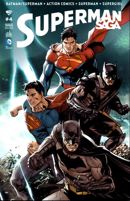 Couverture de Superman Saga -4- Numéro 4