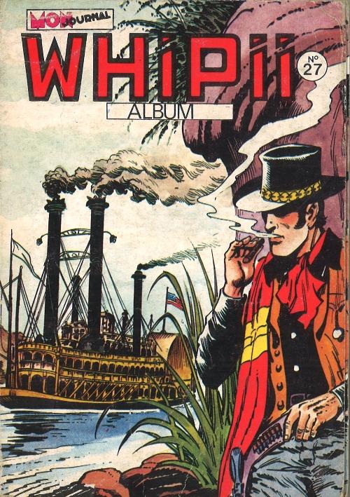 Couverture de Whipii ! (Panter Black, Whipee ! puis) -Rec27- Album N°27 (du n°77 au n°79)