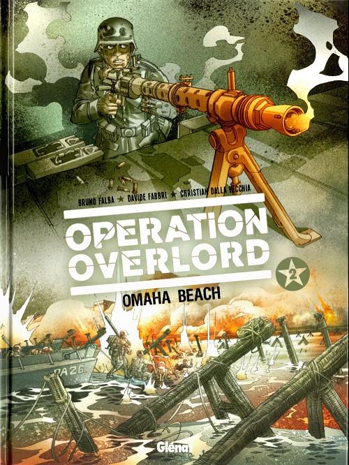 Couverture de Opération Overlord -2- Omaha beach