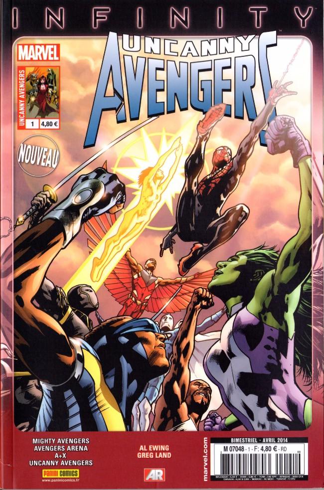 Couverture de Uncanny Avengers (2e série) -1- Avengers à Louer