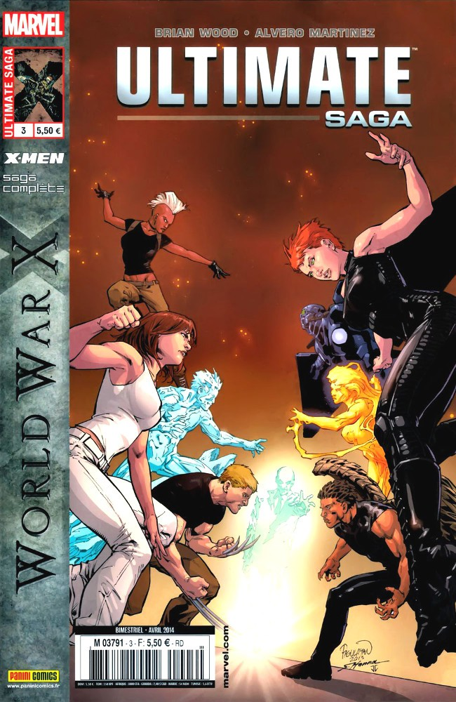 Ultimate saga Tome 3 : World War X (2014)