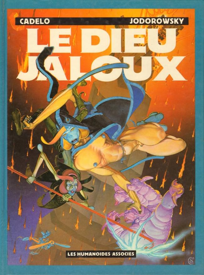 Couverture de Le dieu jaloux / La Saga d'Alandor -1- Le Dieu jaloux
