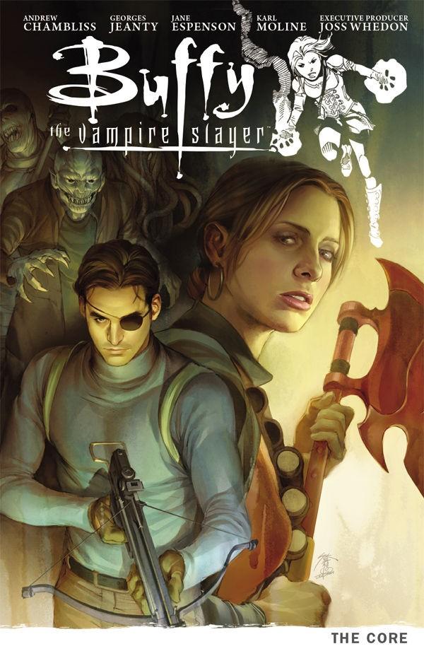 Couverture de Buffy the Vampire Slayer Season 09 (Dark Horse Comics - 2011) -INT05- The Core