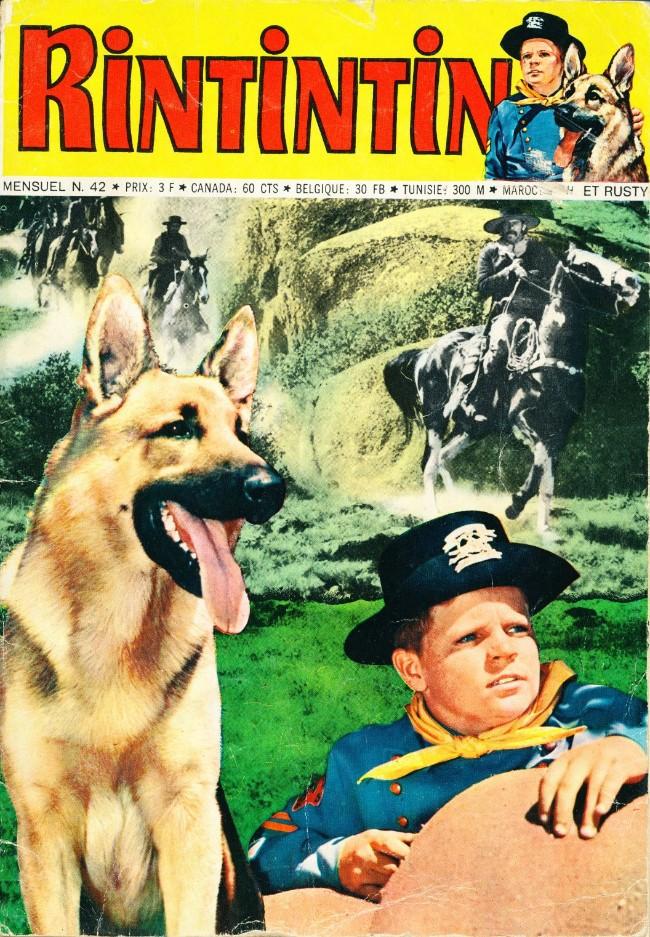 Couverture de Rin Tin Tin & Rusty (2e série) -42- Le Grand Canyon