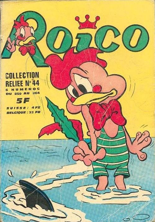 Couverture de Roico -Rec44- Collection Reliée n°44 (du n°259 au n°264)