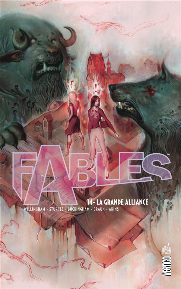 Couverture de Fables (Urban Comics) -14- La Grande Alliance