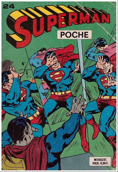 Couverture de Superman (Poche) (Sagédition) -24- Superman poche n°24
