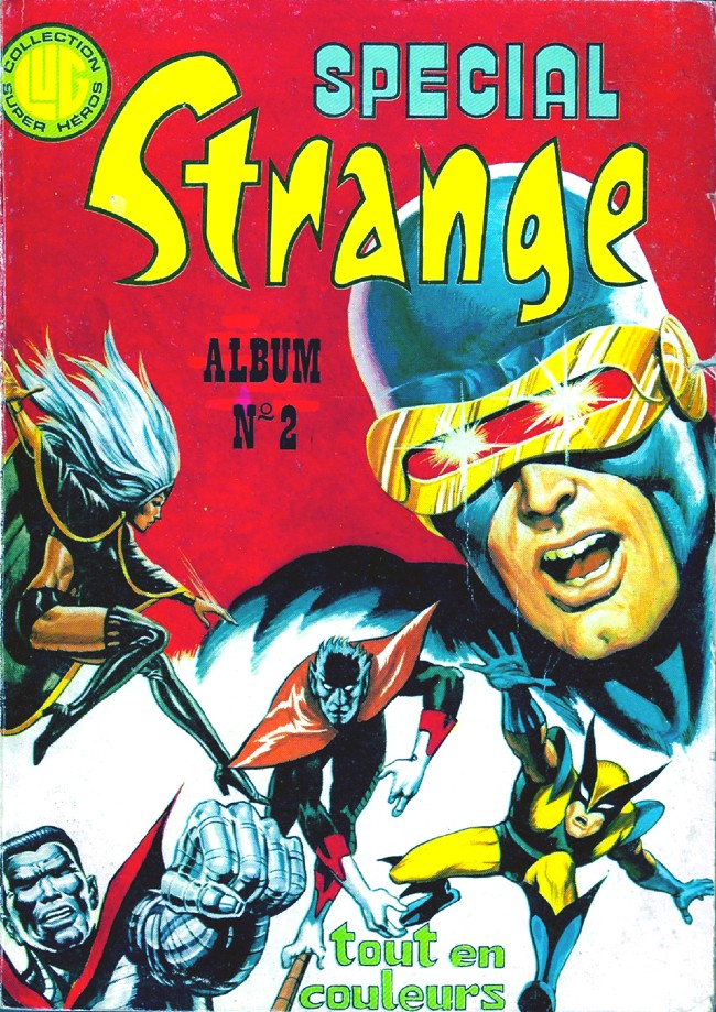 Couverture de Spécial Strange -Rec02- Album N°2 (du n°4 au n°6)