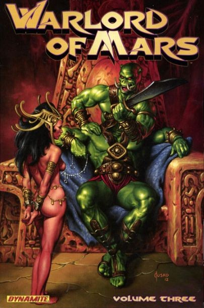 Couverture de Warlord of Mars (2010) -INT03- Volume 3
