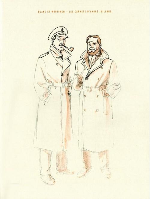 Couverture de (AUT) Juillard - Blake et Mortimer - Les carnets d'André Juillard