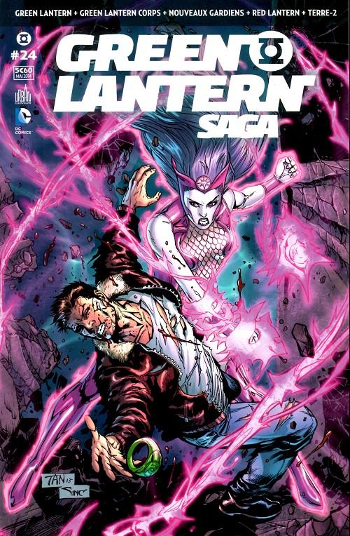 Couverture de Green Lantern Saga -24- Numéro 24