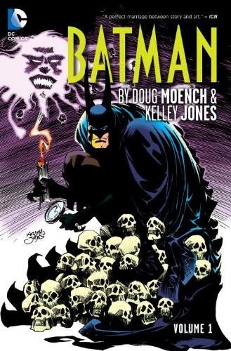 Couverture de Batman (1940) -INT- Batman by Doug Moench & Kelley Jones - Volume 1