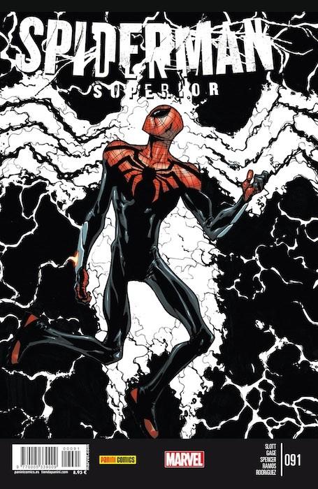 Couverture de Asombroso Spiderman -91- La Hora Más Oscura