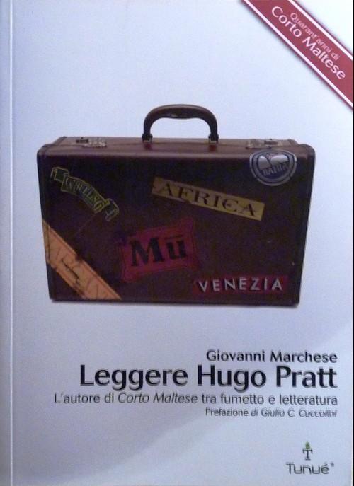 Couverture de (AUT) Pratt, Hugo (en italien) - Leggere Hugo Pratt