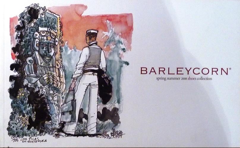 Couverture de (AUT) Pratt, Hugo (en italien) - Barleycorn 3