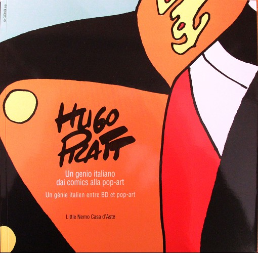 Couverture de (AUT) Pratt, Hugo (en italien) -Cat- Hugo Pratt : un genio italiano dai comics alla pop-art