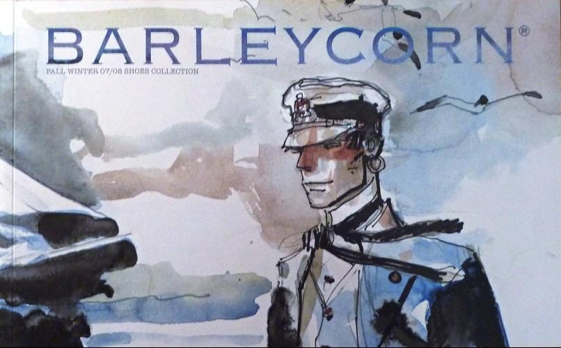 Couverture de (AUT) Pratt, Hugo (en italien) - Barleycorn 2