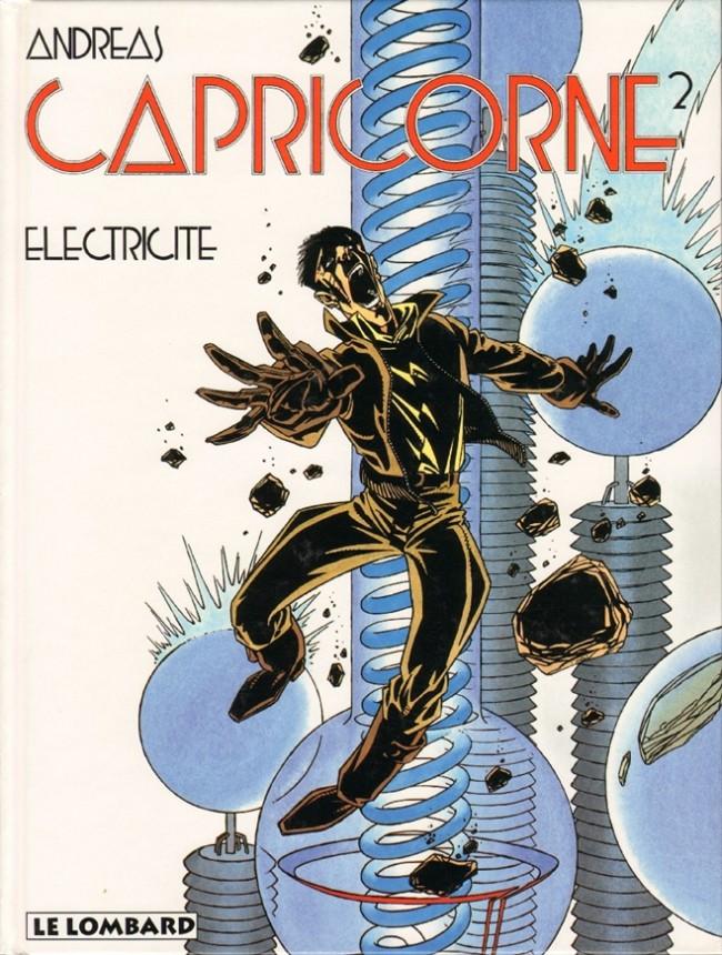 Couverture de Capricorne -2- Electricité