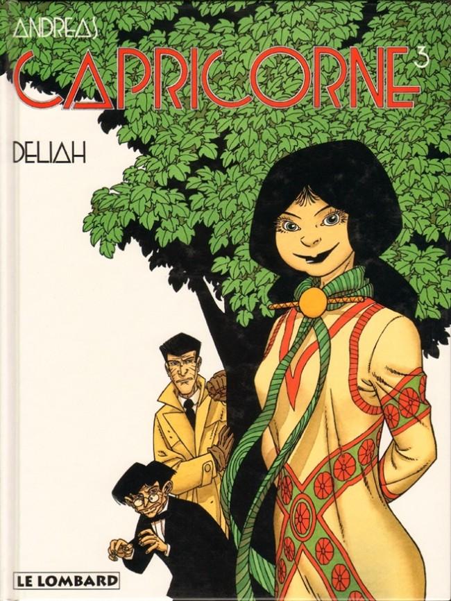 Couverture de Capricorne -3- Deliah