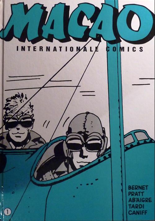 Couverture de Macao (Pratt) -1TL ALL- Internationale comics