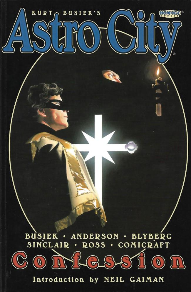 Couverture de Kurt Busiek's Astro City (1996) -INT02a- Confession