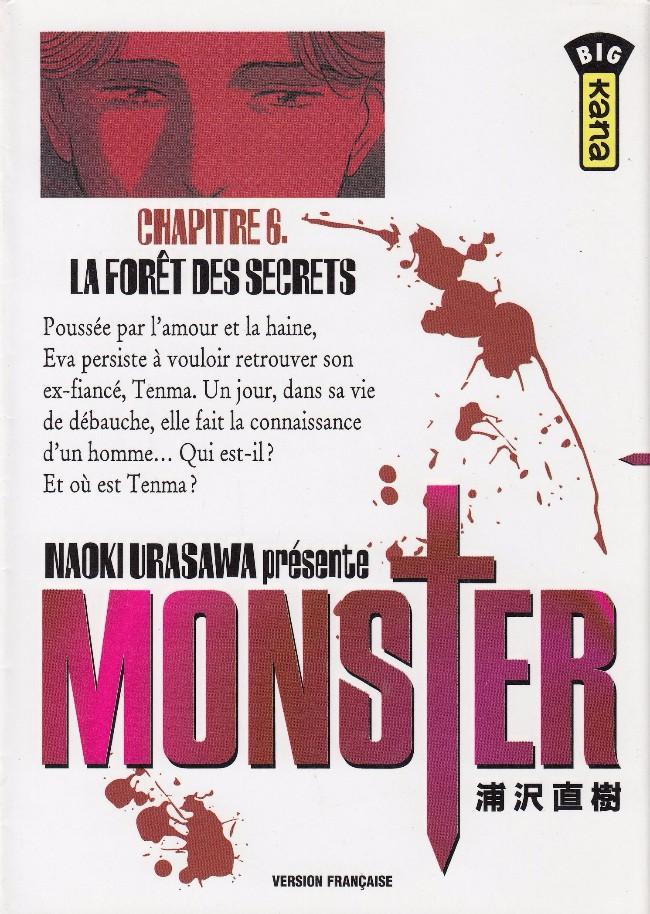 Couverture de Monster (Urasawa) -6- La forêt des secrets