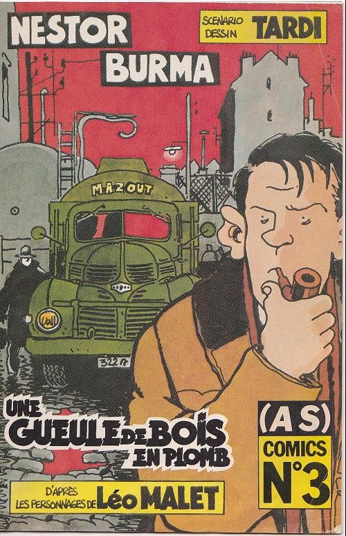 Couverture de (AS) Comics -3135- Nestor Burma - Une gueule de bois en plomb (1/3)