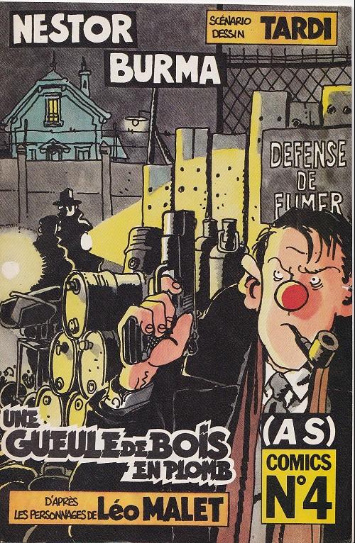 Couverture de (AS) Comics -4136- Nestor Burma - Une gueule de bois en plomb (2/3)