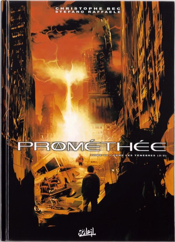 Couverture de Prométhée -10- Dans les ténèbres (2/2)