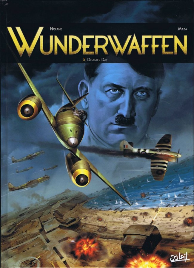 Couverture de Wunderwaffen -5- Disaster Day