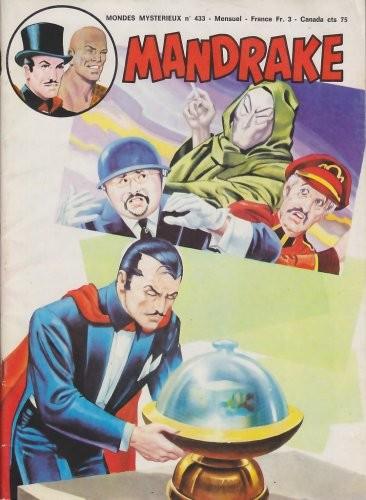 Couverture de Mandrake (1re Série - Remparts) (Mondes Mystérieux - 1) -433- L'épuisante lutte