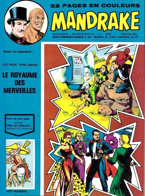 Couverture de Mandrake (1re Série - Remparts) (Mondes Mystérieux - 1) -422- Le royaume des merveilles