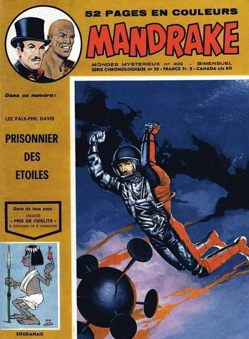 Couverture de Mandrake (1re Série - Remparts) (Mondes Mystérieux - 1) -409- Prisonnier des étoiles