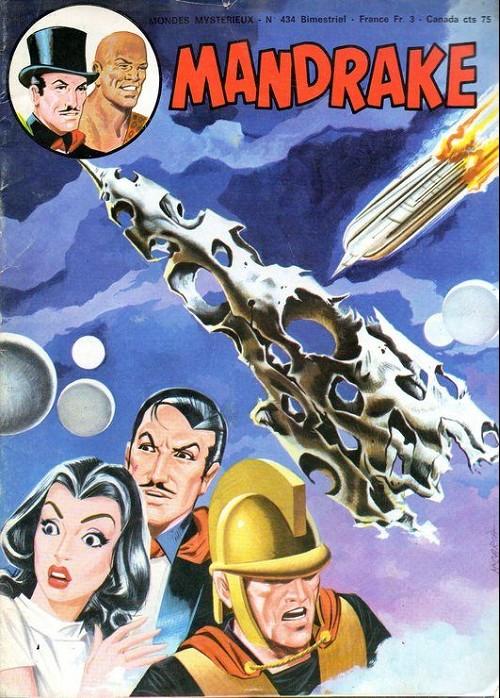 Couverture de Mandrake (1re Série - Remparts) (Mondes Mystérieux - 1) -434- Attaque dans la galaxie