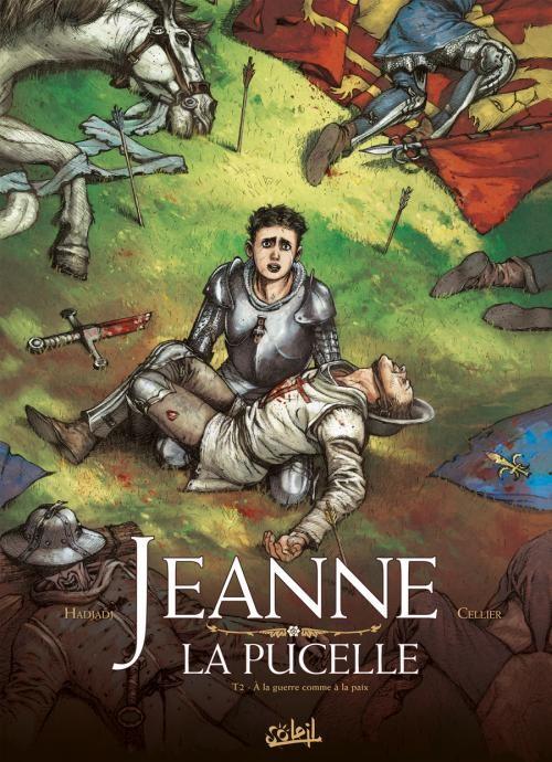 Couverture de Jeanne la pucelle -2- À la guerre comme à la paix