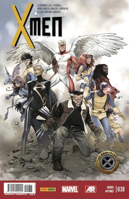 Couverture de X-Men v4 -38- 50 Aniversario
