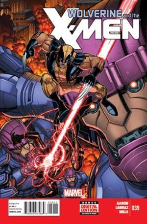 Couverture de Wolverine and the X-Men Vol.1 (Marvel comics - 2011) -39- Untitled